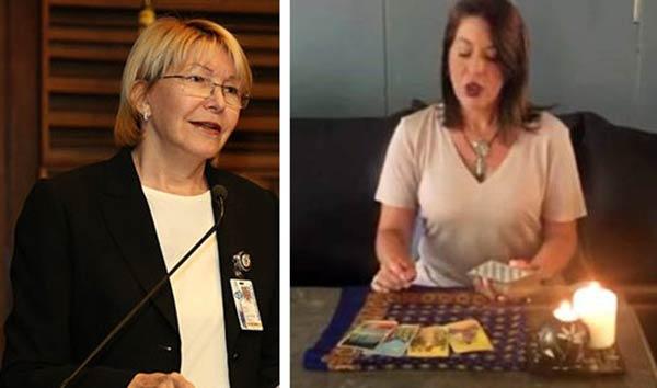Meredith Montero consulta el tarot sobre el destino de la Fiscal General  Composición: Notitotal