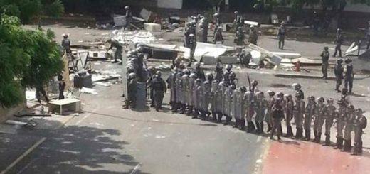GNB entra allana  las Torres de Saladillo en Maracaibo |Foto cortesía