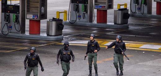 Denuncian que GNB usó de armas de fuego contra manifestantes en el CCCT | Foto: @hcapriles
