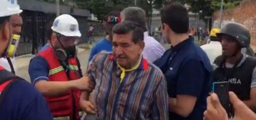Hirieron a diputado del Parlatino durante represión en Barquisimeto | Captura de video