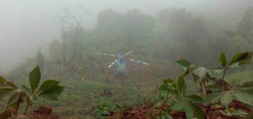 Helicóptero del CICPC |Foto: @TareckPSUV