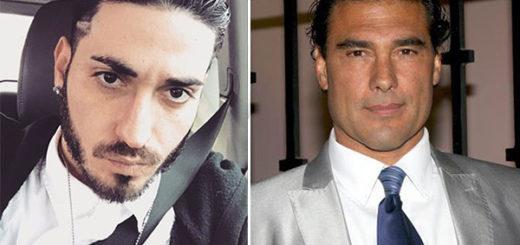 Eduardo Yañez Jr. y su padre, el actor Eduardo Yañez | Composición