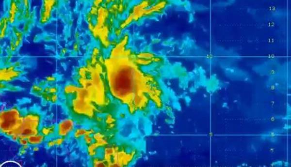 La Tormenta Tropical estaría tocando suelo venezolano el día martes |Captura de video