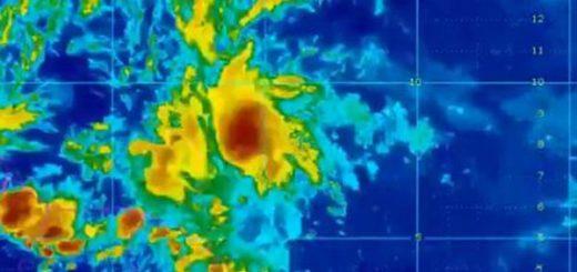 Se espera que ascienda a categoría de Tormenta Tropical en horas de la tarde | Foto: Inameh