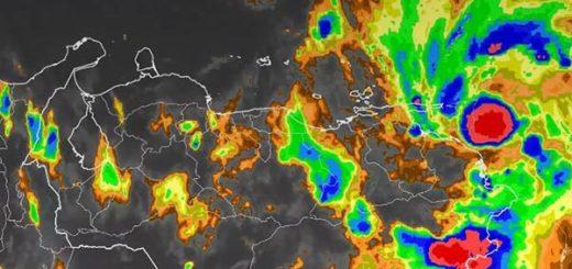 Tormenta Tropical Bret estaría encendiendo la Alerta Roja, Inameh aún no confirma |Foto:  @AndrewsAbreu