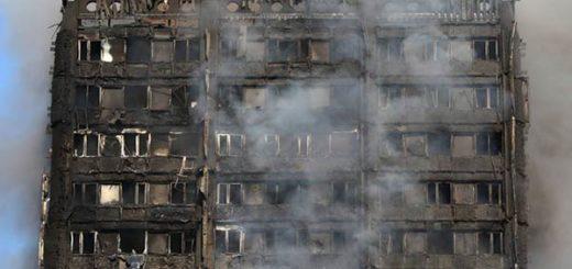 El incendio se generó en la Torre Grenfell, de Londres, construida en 1974 |Foto: Reuters