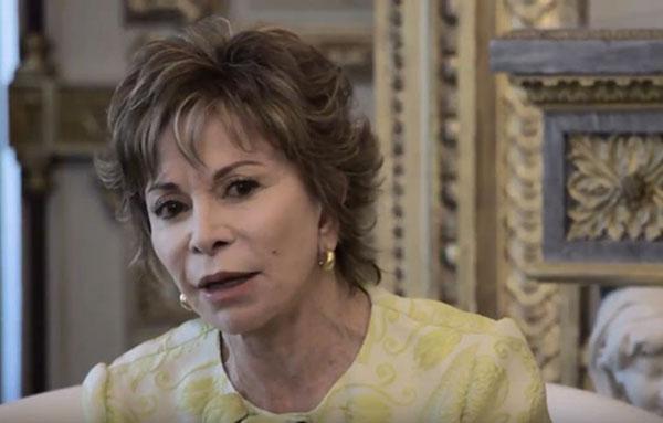 Isabel Allende habla sobre la crisis en Venezuela   Captura de video
