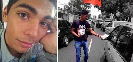 Isael Macadan, de 18 años, asesinado durante manifestación en Anzoátegui | Composición