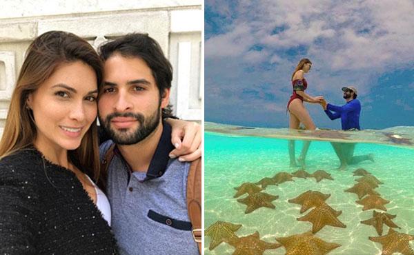 María Gabriela Isler no aguantó más y confesó que le pidieron matrimonio | Composición