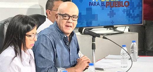 Jorge Rodríguez | Foto: @BloqueDePatria
