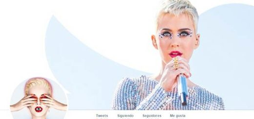 Perfil de Katy Perry en Twitter |Captura