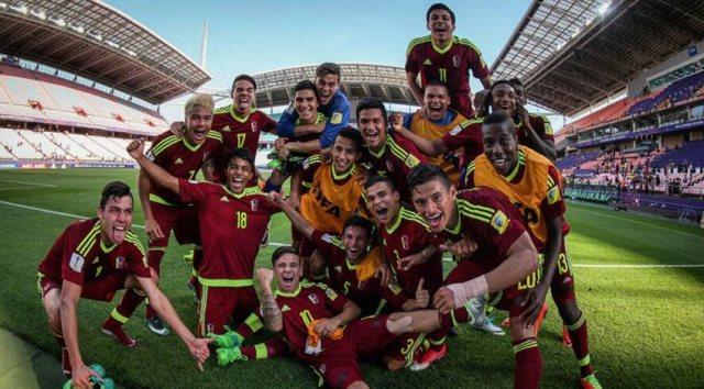 La Vinotinto juego en la final del Mundial Sub-20   Foto: Globovisión