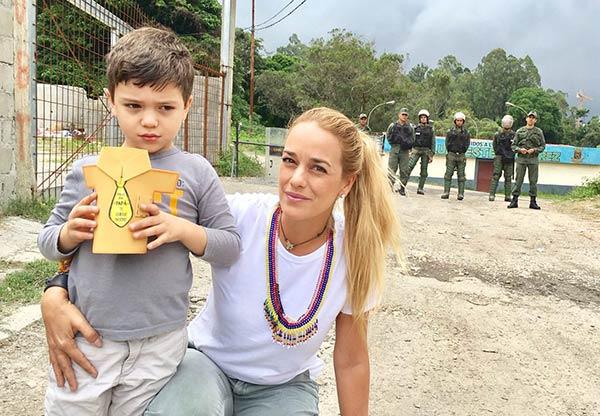 Hijos de Leopoldo López no pudieron visitarlo en su día |Foto Twitter