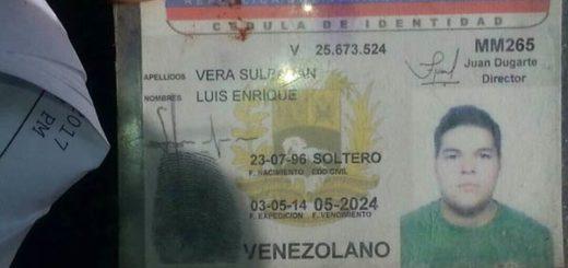 Luis Enrique Vera fue arrollado a las adyacencias de la URBE| Foto Twitter