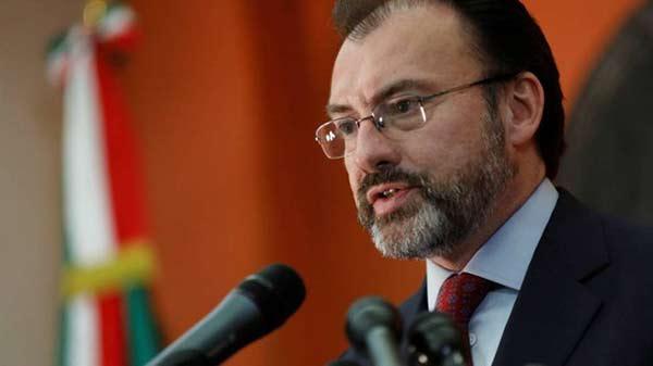 Luis Videgaray, Canciller de México | Foto: Cortesía