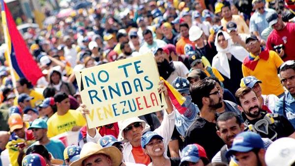 Marcha de la oposición partirá de dos puntos este sábado  | Foto: Twitter