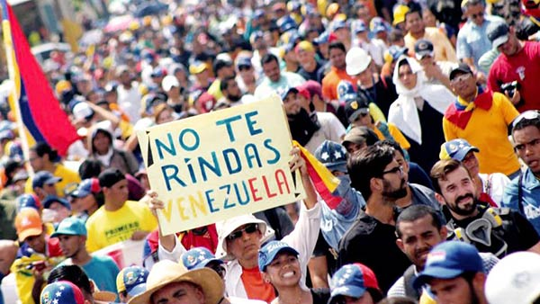 Maracuchos marchan este viernes |Foto: Twitter