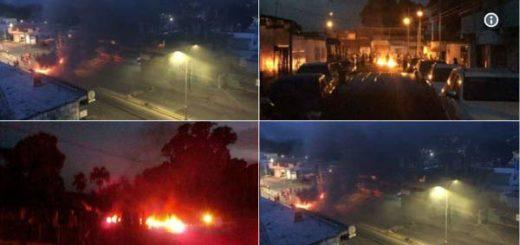 Conmoción en Maracay tras noche de protestas y saqueos #26Jun   Fotos: Twitter