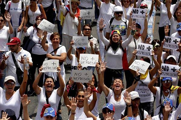 Marcha por la fe para este #17Jun |Foto: Agencia