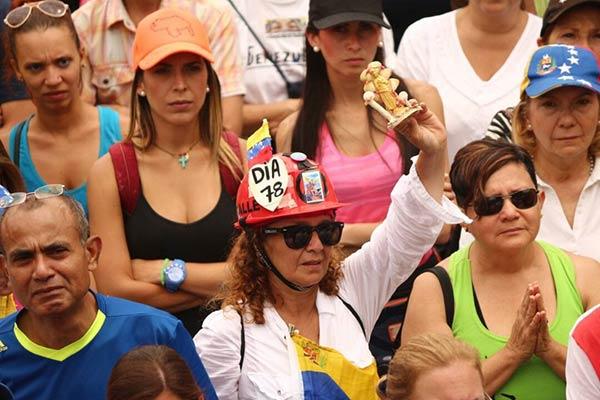 #MarchaPorLaPaz en Caracas |Foto: La Patilla