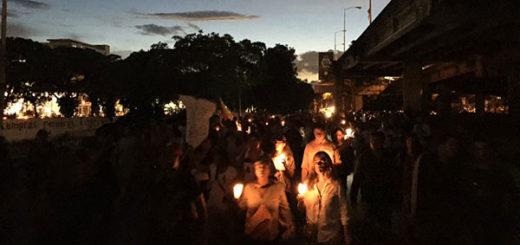Marcha nocturna hasta la sede de la OEA #21Jun | Foto: Twitter