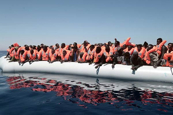 Rescate de migrantes en el Mediterráneo  Foto: Reuters