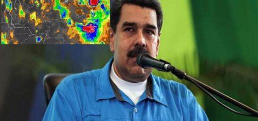 Nicolás Maduro habló sobre la Tormenta Tropical Bret |Composición: Notitotal