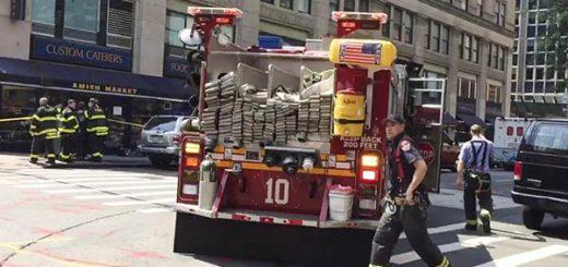 Escape de monóxido de carbono en Nueva York |Foto: EFE