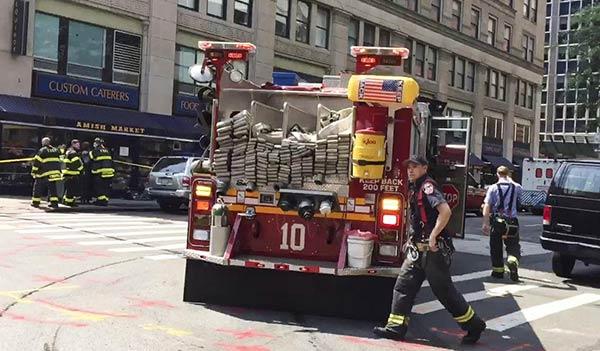 Escape de monóxido de carbono en Nueva York  Foto: EFE