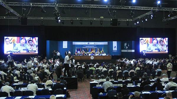 Asamblea General de la OEA  Foto: EFE