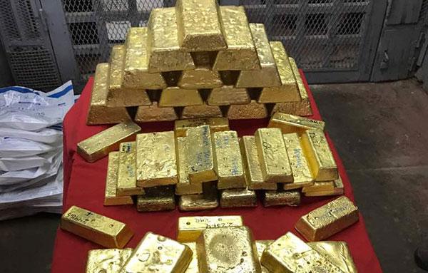 Nuevo cargamento de 407 kg de oro al BCV   Foto: @ProfeWong