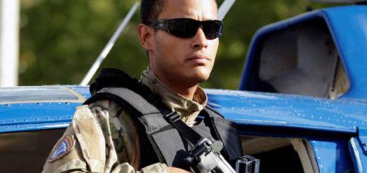 Oscar Pérez, funcionario del BAES | Foto cortesía