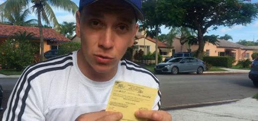 Roban a youtuber venezolano en Miami | Captura de video