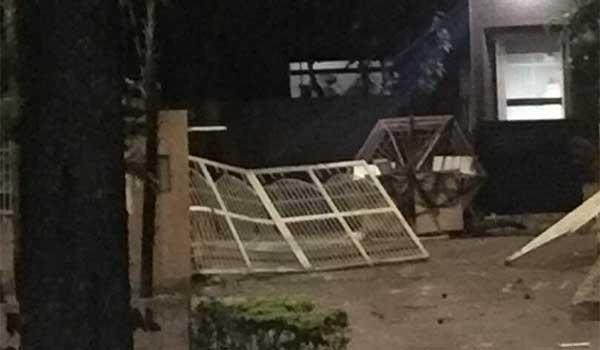 Vecinos de El Paraíso fueron atacados por grupos violentos en horas nocturnas #31May | Foto: Vía Twitter