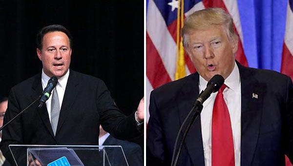 Presidente de Panamá y presidente de EEUU   Notitotal