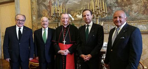 Expresidentes Pastrana y Quiroga llevan al Vaticano su inquietud por Venezuela | Foto: @tutoquiroga