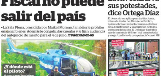 Portadas de los diarios nacionales de este #29Jun | Foto: kiosko.net