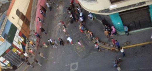 Protesta en Caracas por gas doméstico |Foto: Twitter