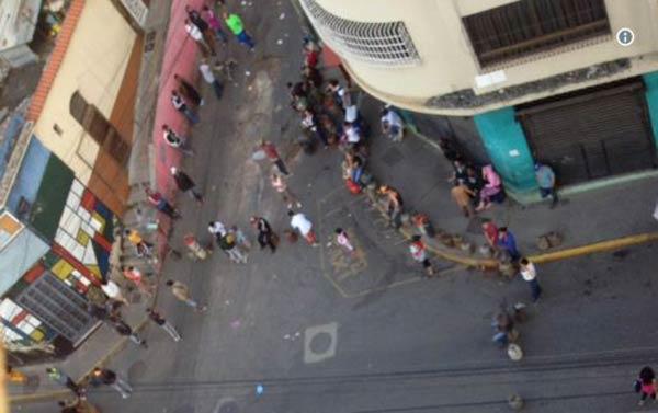 Protesta en Caracas por gas doméstico  Foto: Twitter
