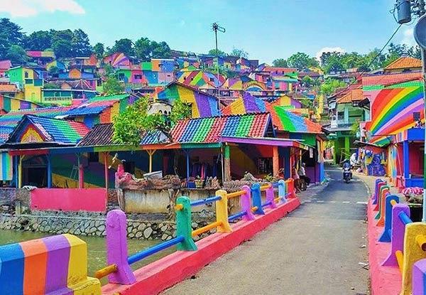 La aldea está ubicada al oeste de Indonesia |Foto cortesía