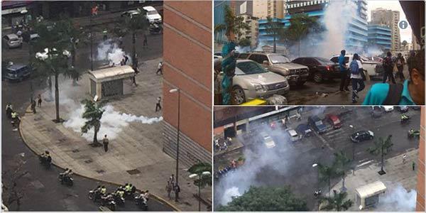 Represión-Caracas