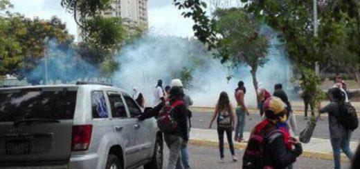 Represión en Cumaná |Foto: Twitter