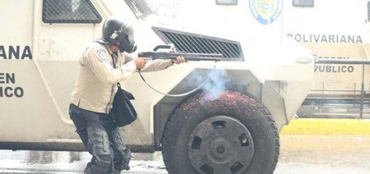 PNB acciona represión contra manifestantes |Foto: Eduardo Ríos /La Patilla