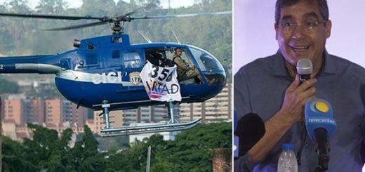 Maduro condena ataca de helicóptero y culpa a Rodríguez Torres