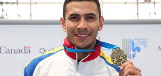 Rubén Limardo dedicó su medalla de oro a Venezuela | Foto: Instagram