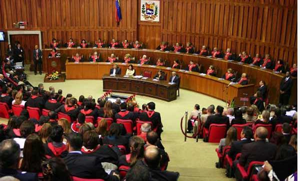 Magistrados del Tribunal Supremo de Justicia (TSJ)  Foto archivo