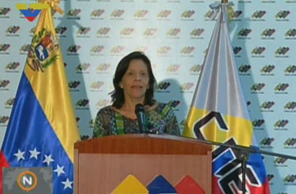 CNE ofreció cifra de postulantes inscritos para la Constituyente de Maduro | Captura de video