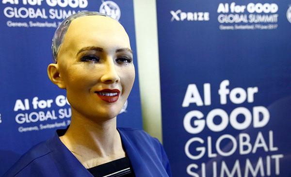 """La increíble robot hiperrealista que está """"aprendiendo a ser humana""""   Foto: Agencias"""