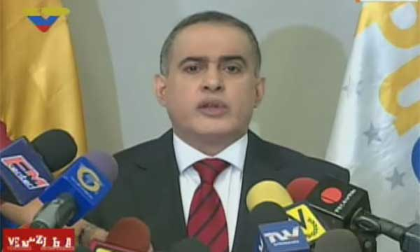 Tarek William Saab, Defensor del Pueblo | Captuta de pantalla
