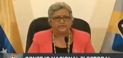 Tibisay Lucena condenó ataques a la sede del TSJ | Captura de video